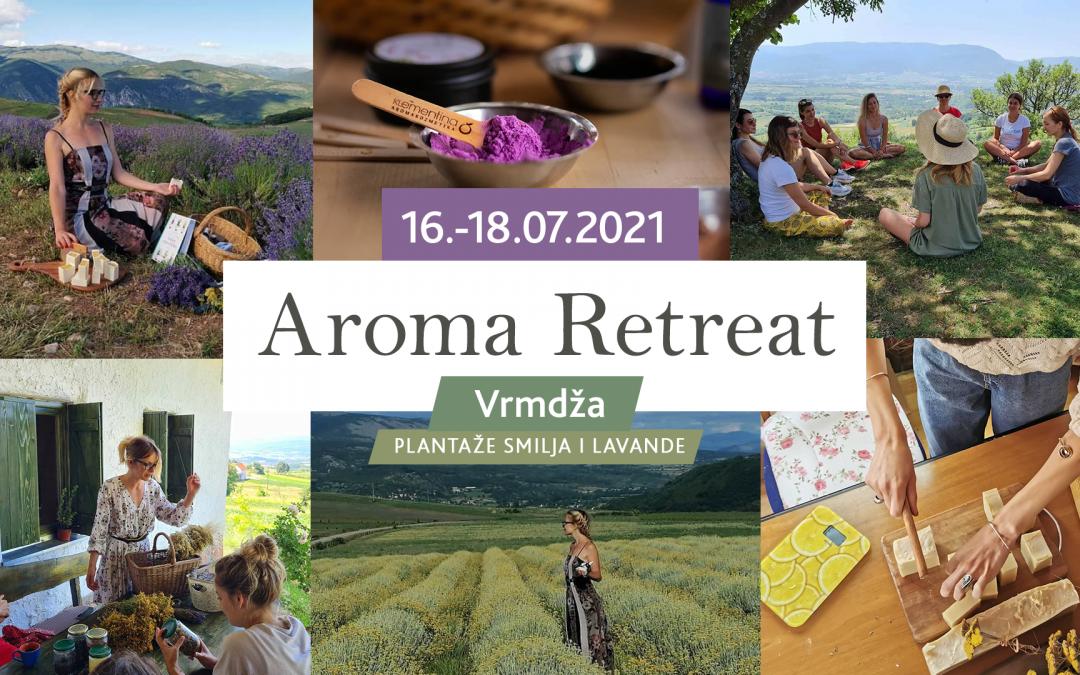 Aroma Retreat – Vrmdža 16.-18. jul